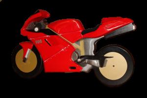 Ducati 996 en bois finie, peinte mais sans bascule.