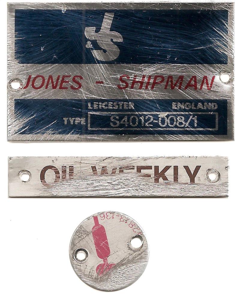 transférer une image sur du métal : plaquettes d'origine scannées