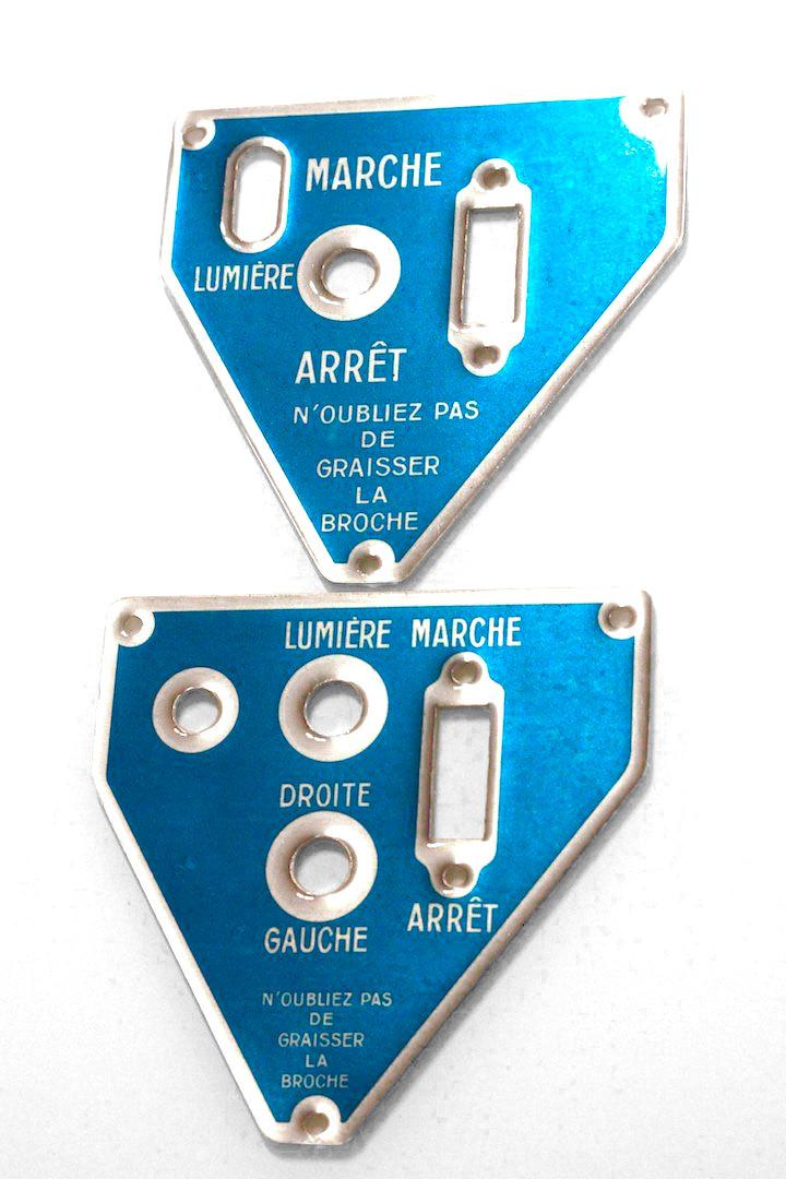 Image transférée sur des plaques en aluminium de perçage