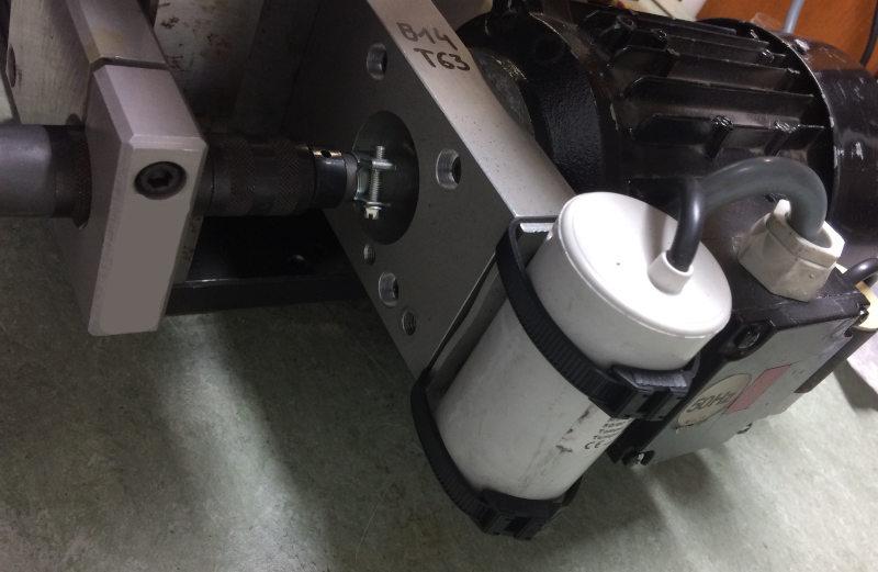 Moteur d'affuteuse DIY et manchon de transmission nylon